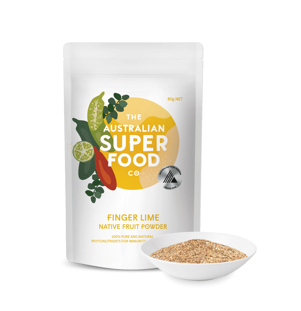 Freeze Dried Finger Lime Powder 80g