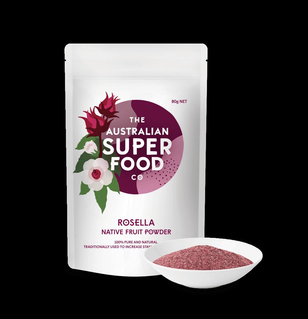 Freeze Dried Rosella Powder 80g