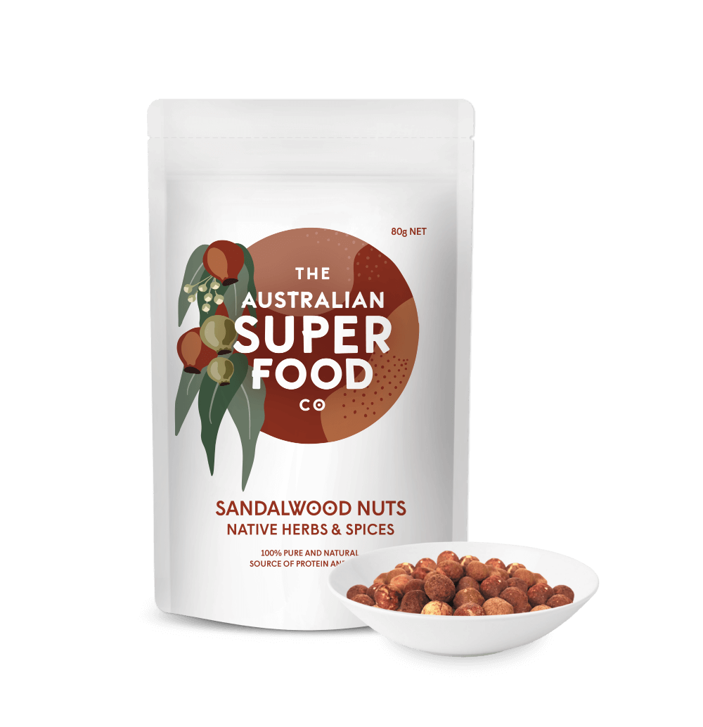 Native Sandalwood Nuts 80g
